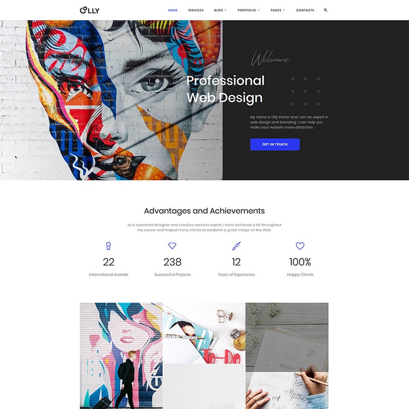 Advertising Agency HTML Template Website Template