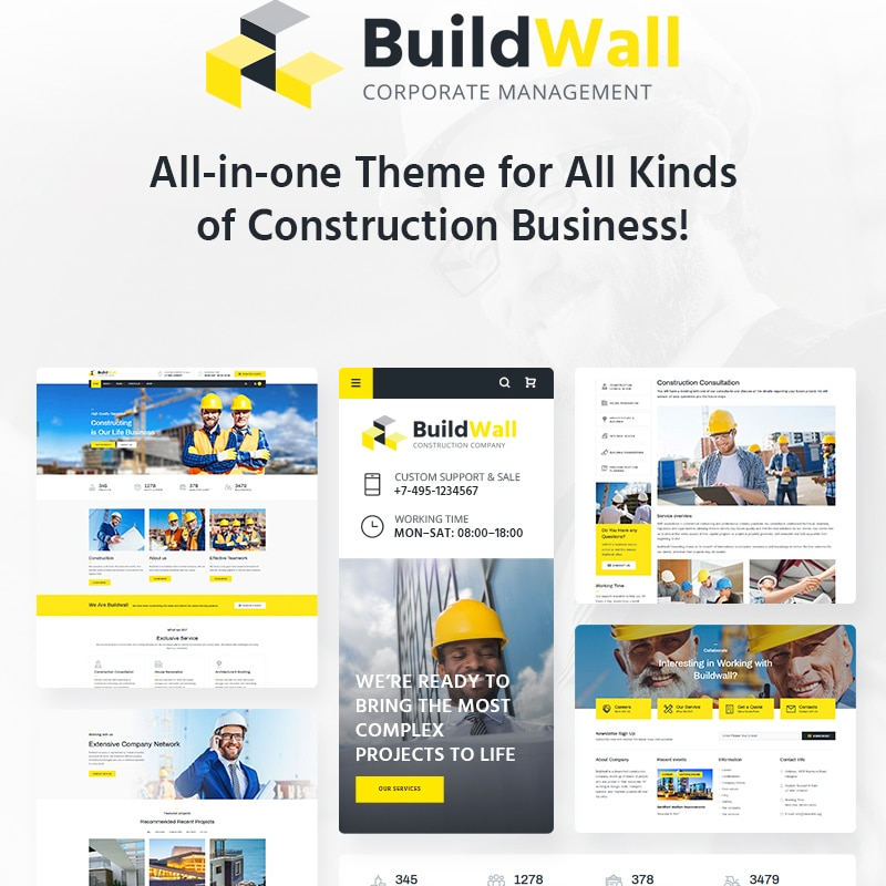BuildWall Website Template