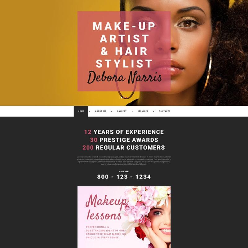 Debora Nerris Website Template