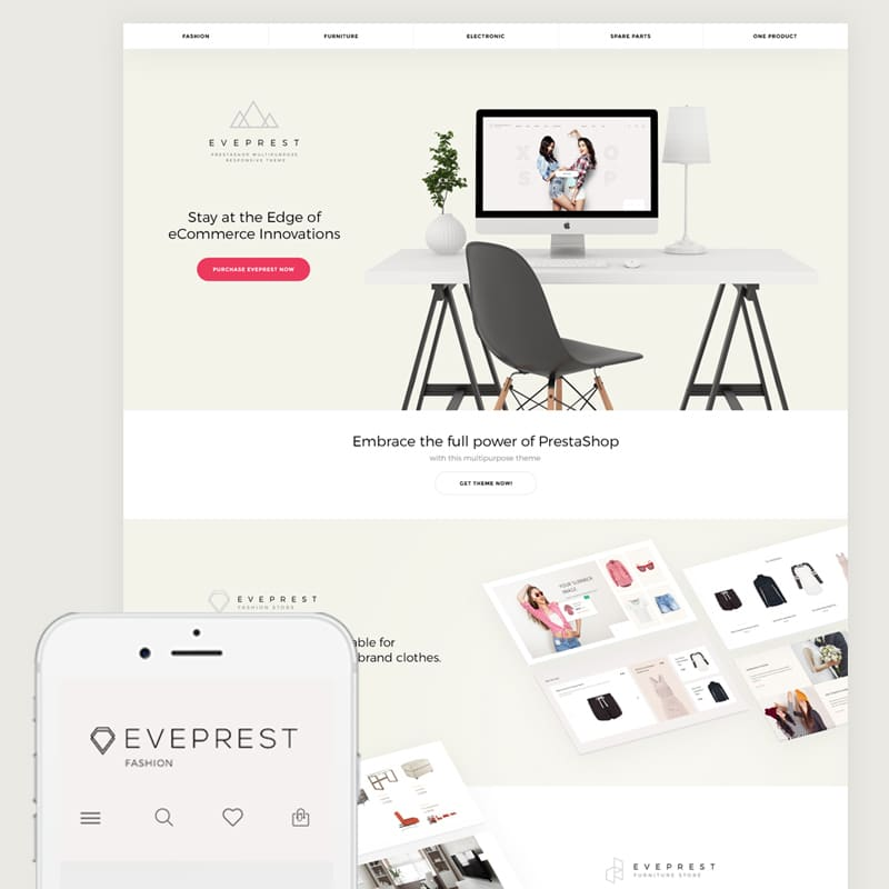 Eveprest - Multipurpose Website Template Website Template