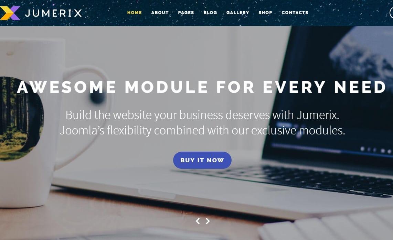 Jumerix Website Template