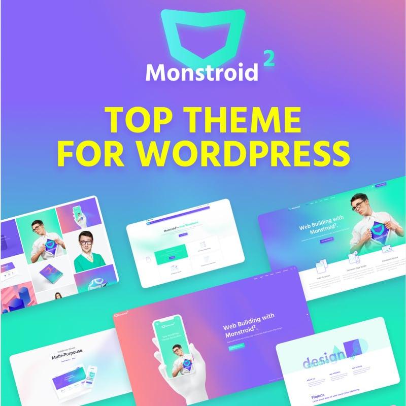 Monstroid2 Website Template