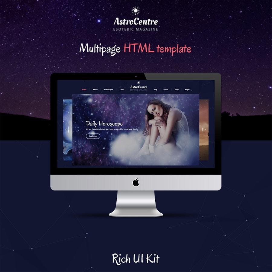AstroCentre Website Template