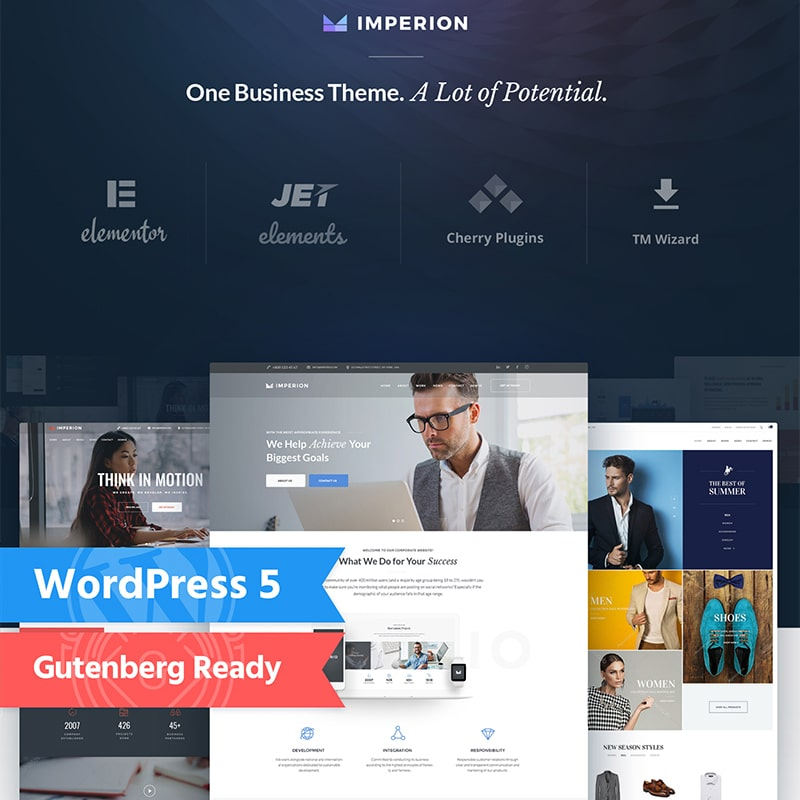 Imperion  Website Template