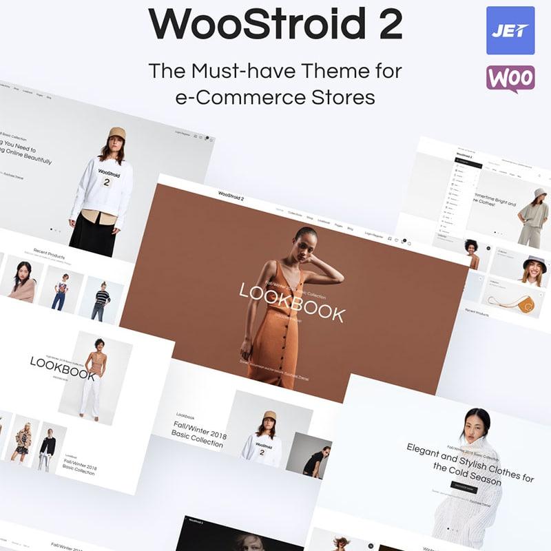 Woostroid2 Website Template