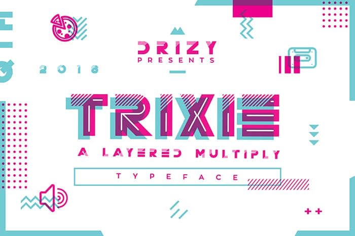 Trixie Website Template