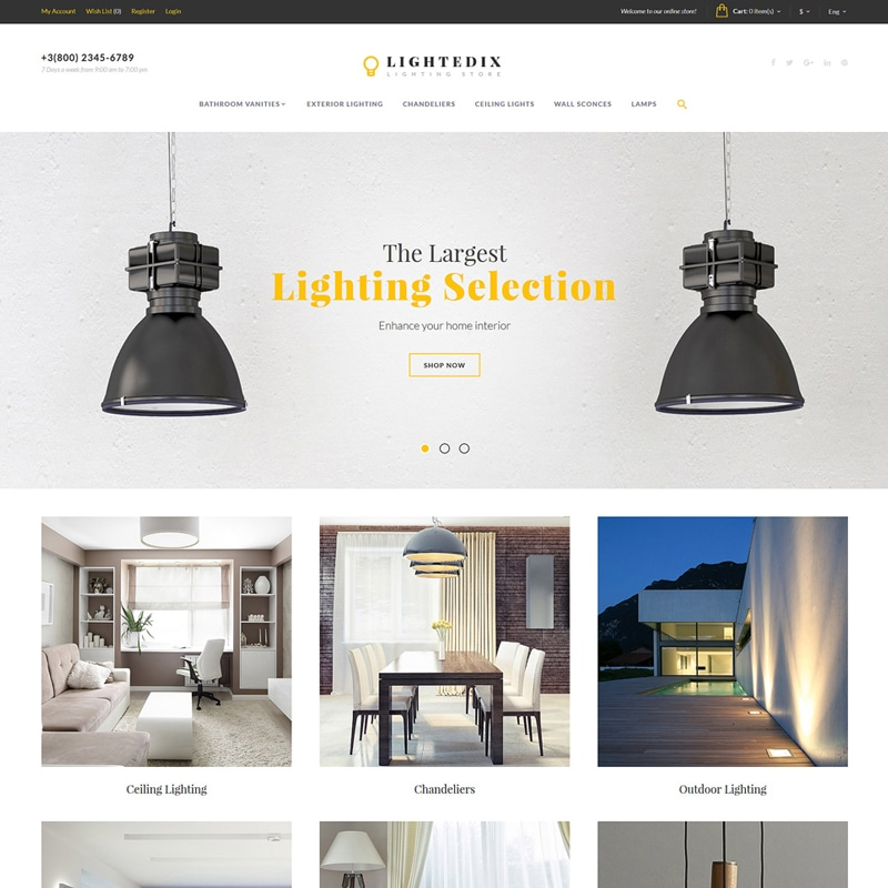 Lightedix Website Template