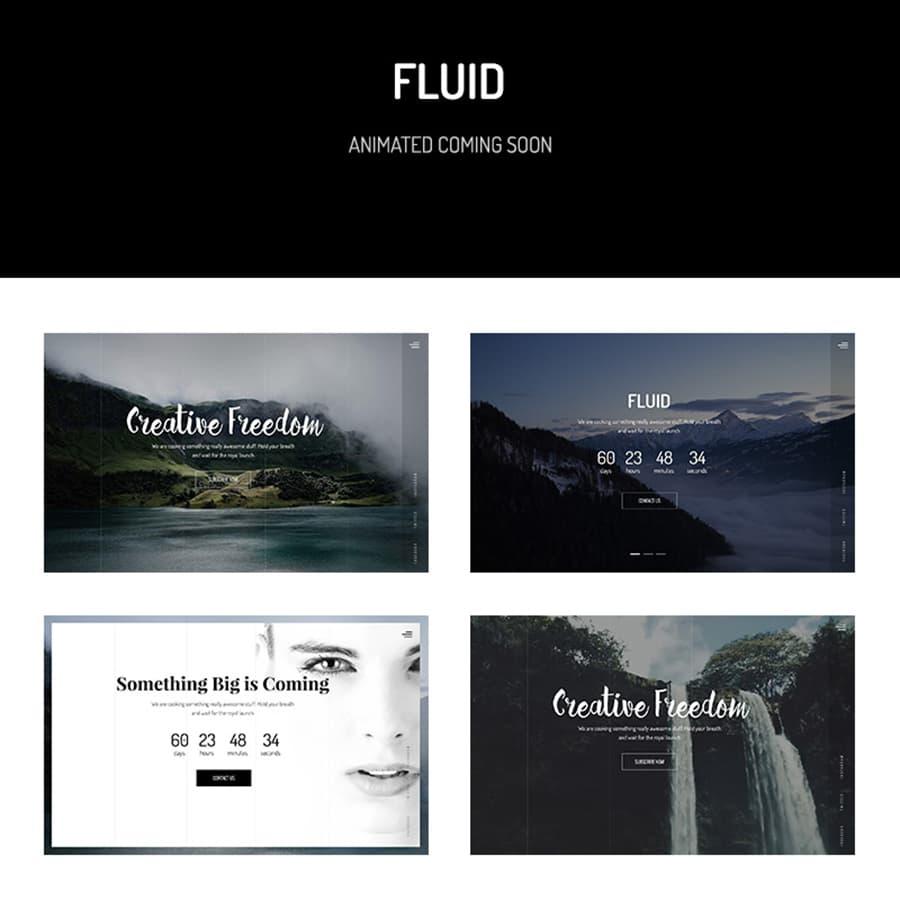 Fluid Website Template