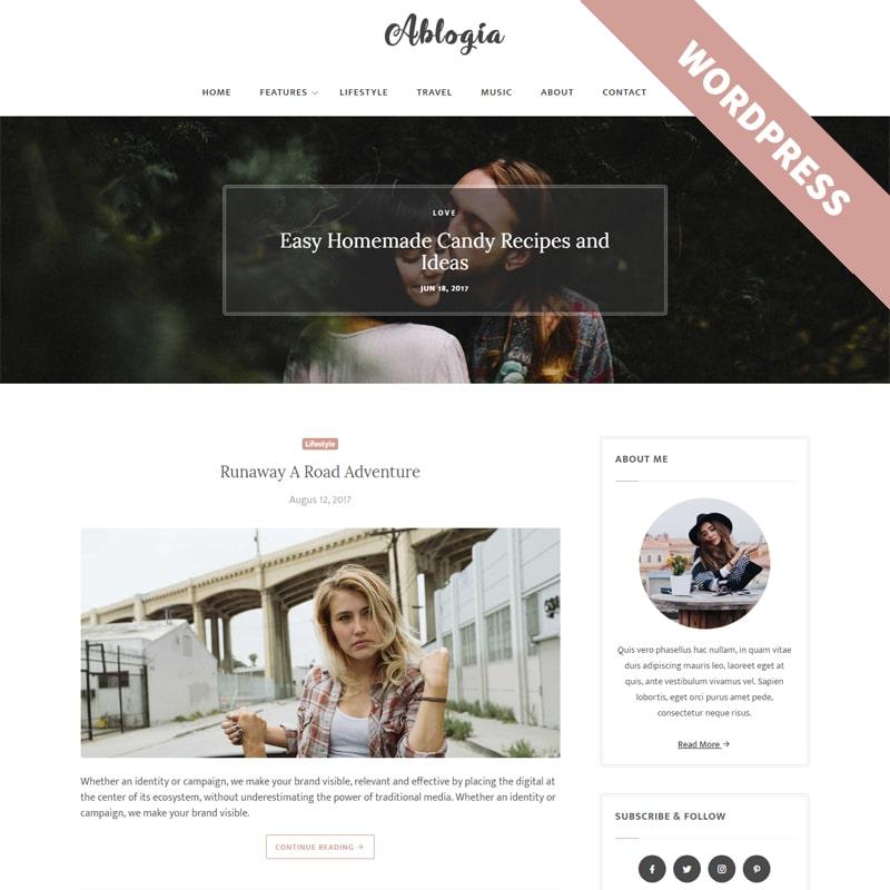 Ablogia Website Template