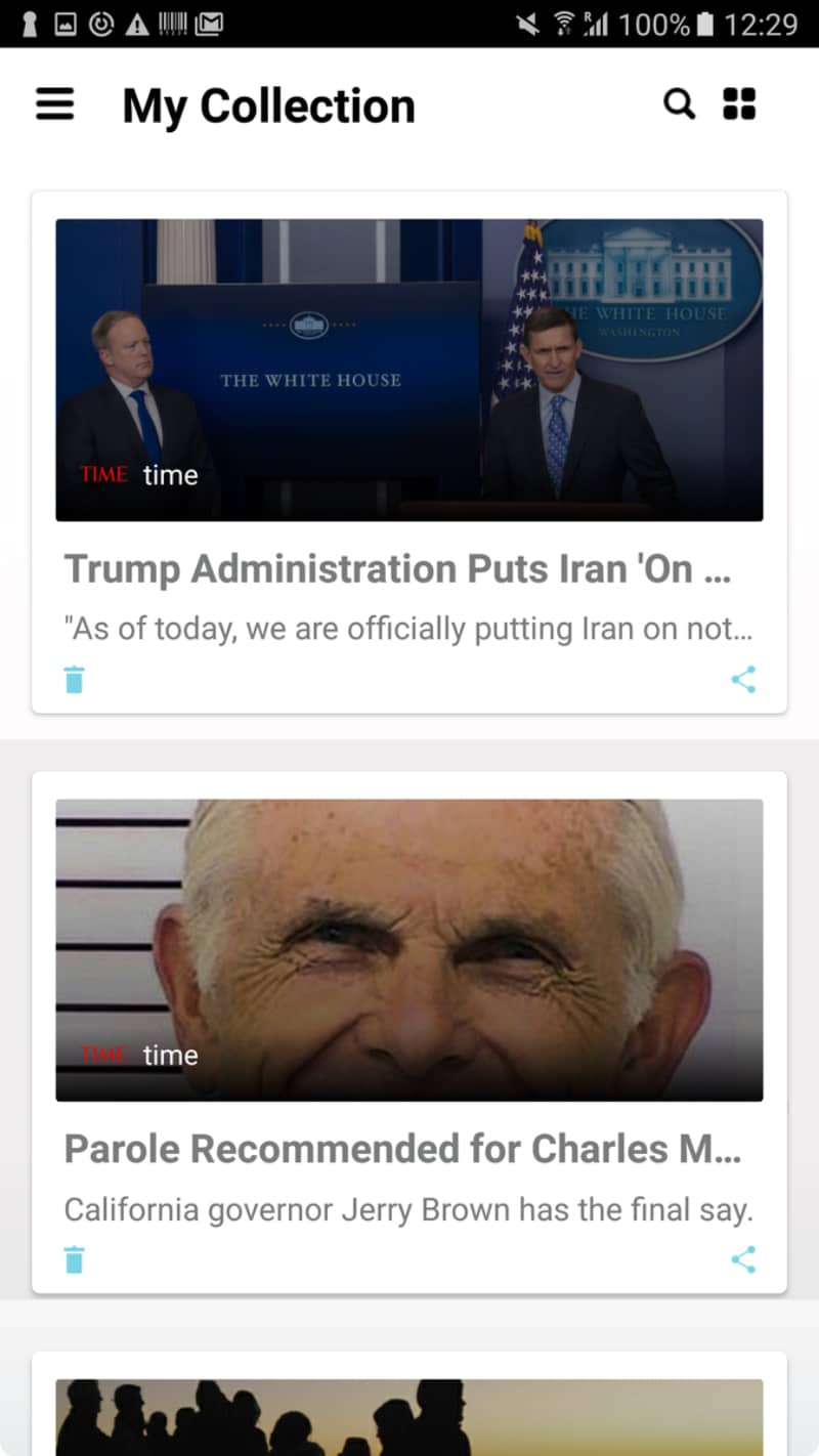 NewsAmp - Android News App Template Website Template