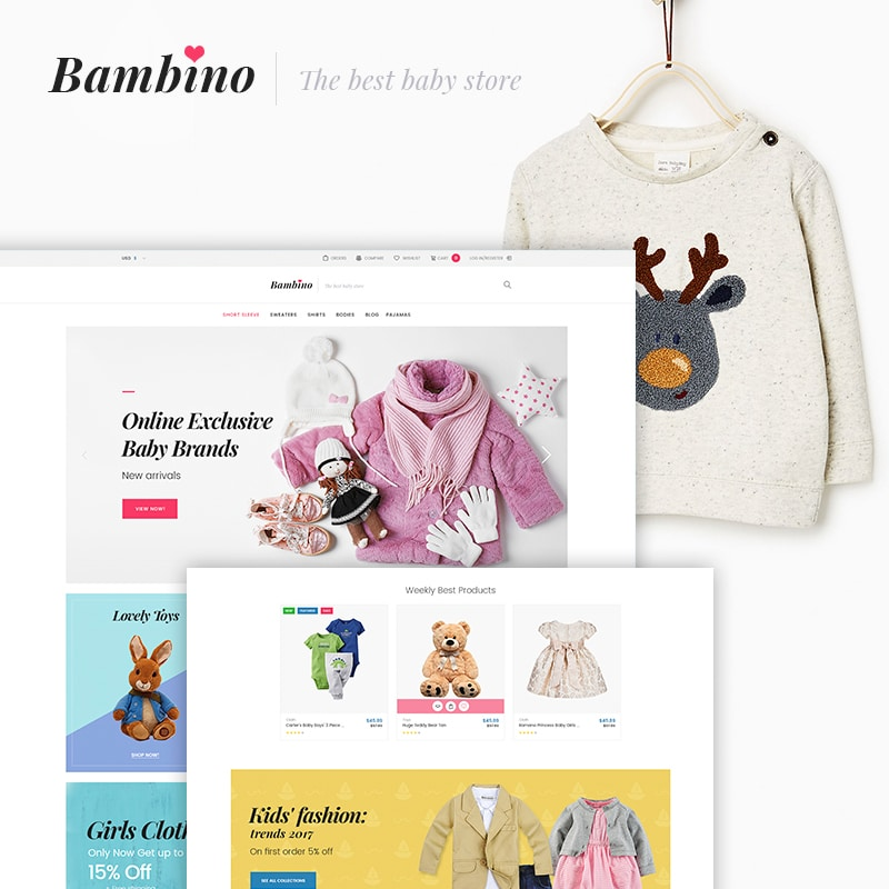 Bambino Website Template