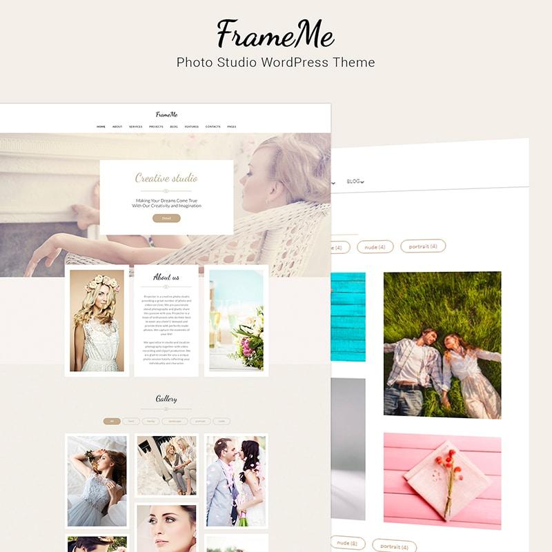 FrameMe Website Template