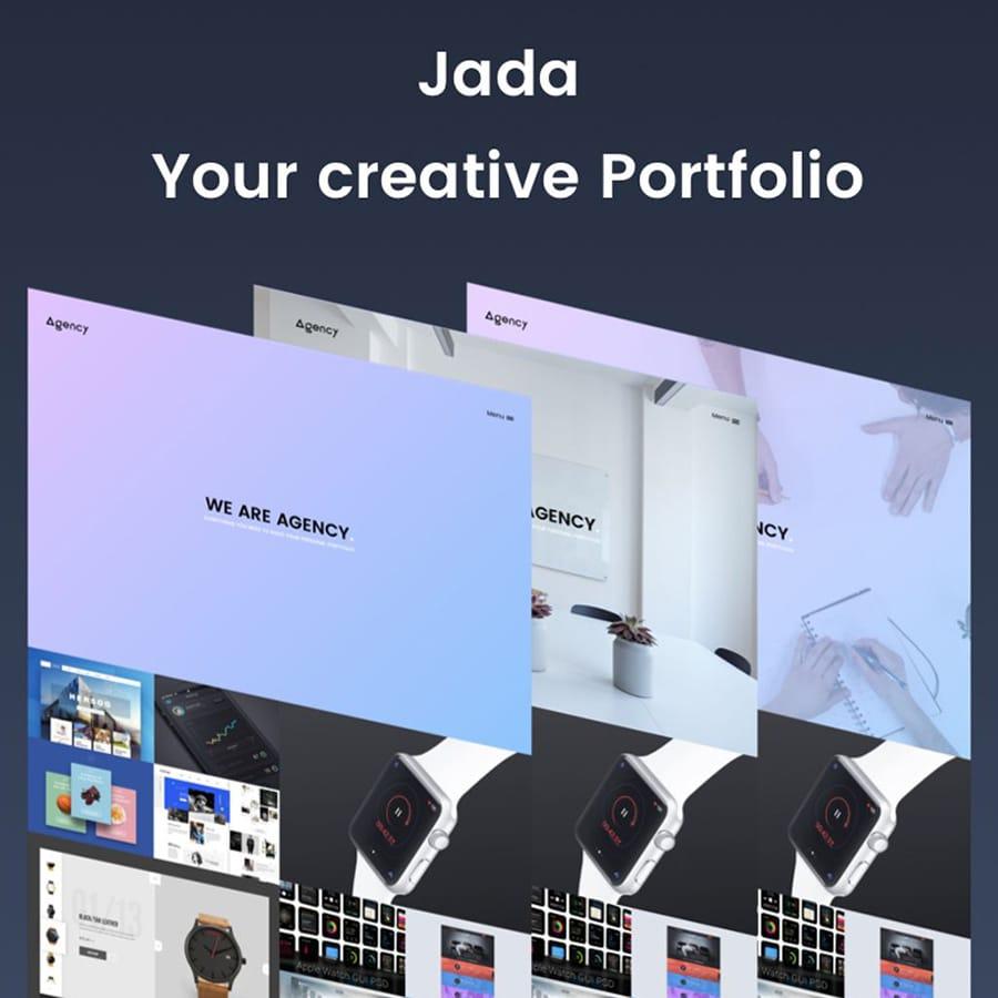 Jada Website Template