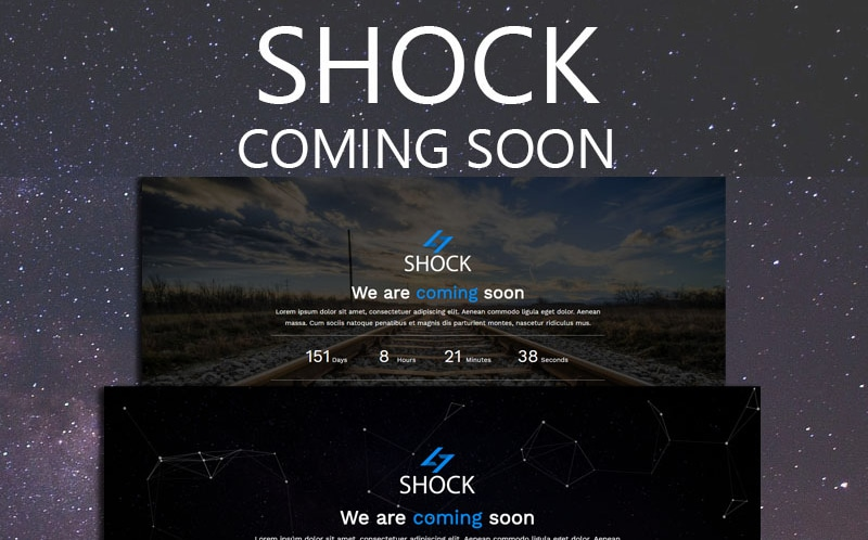 Shock Website Template