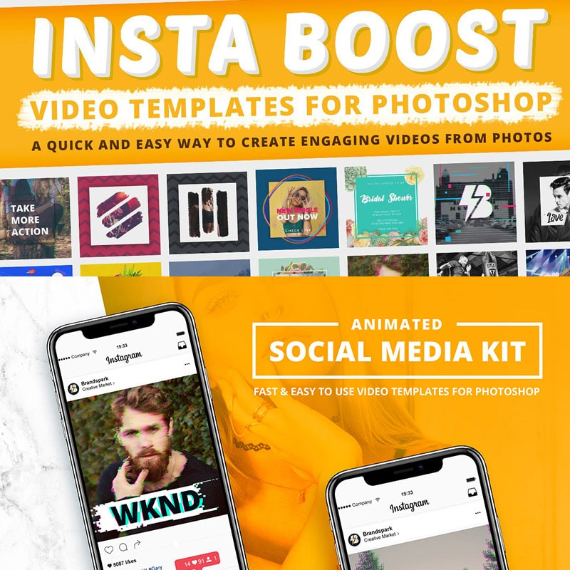 Insta Boost Website Template