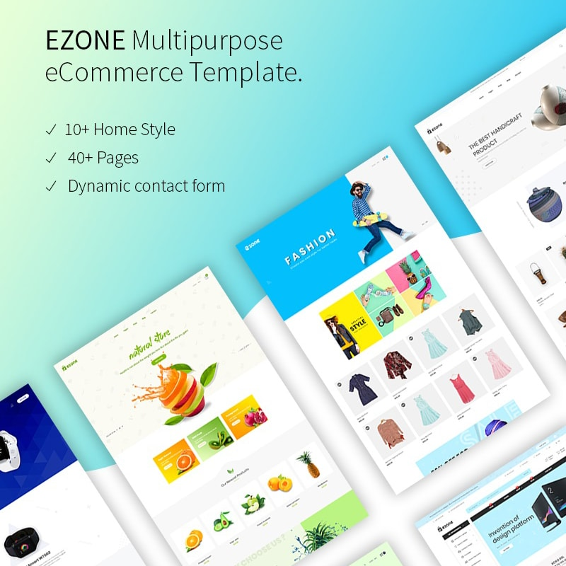 Ezone Website Template