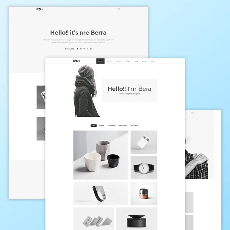 Berra Website Template