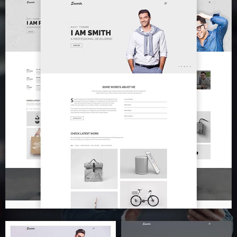 Smarto  Website Template