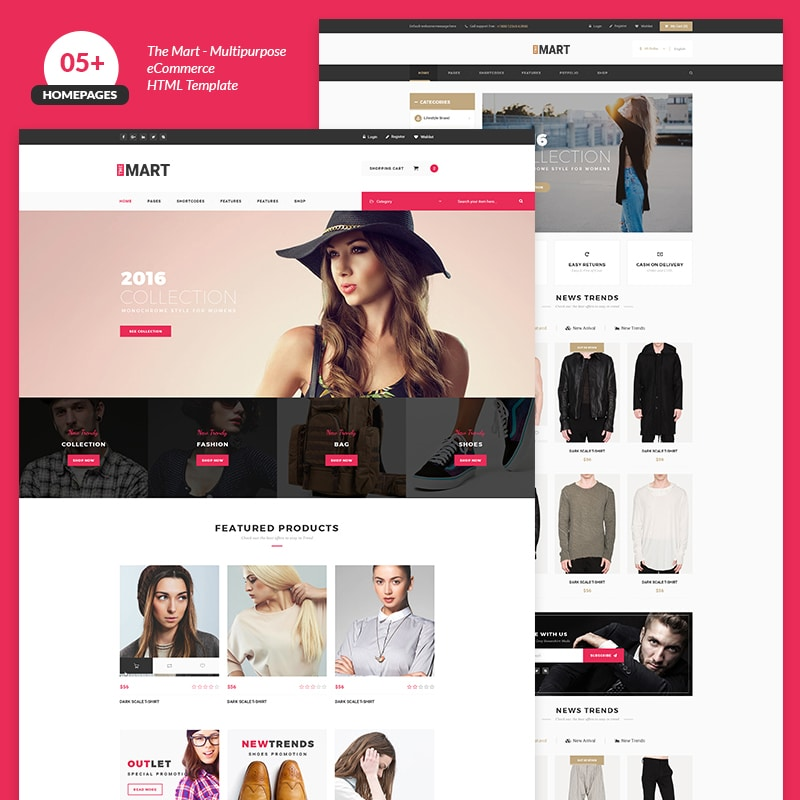 The Mart Website Template