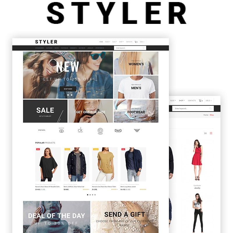 15 WooCommerce Themes for Fashion Store