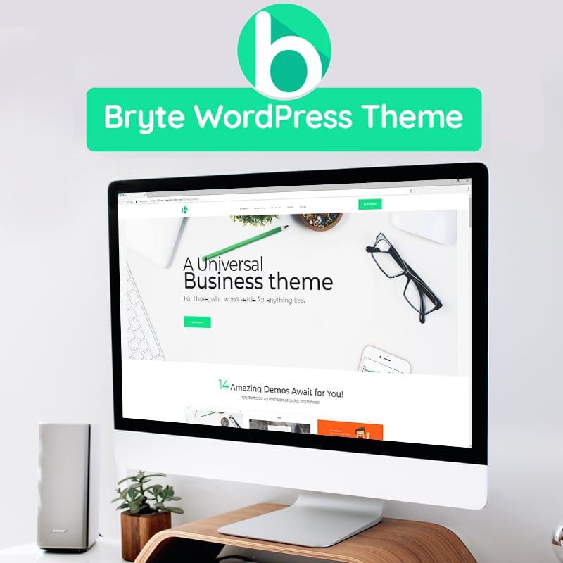 Bryte  Website Template
