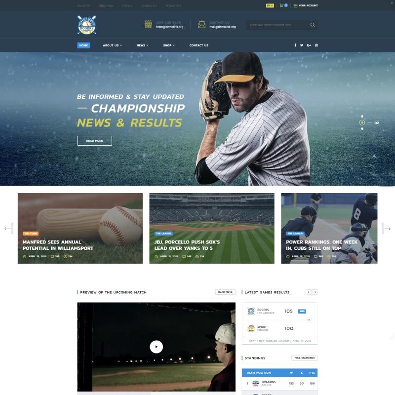 Rogers Website Template
