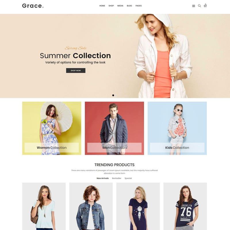 Grace Website Template