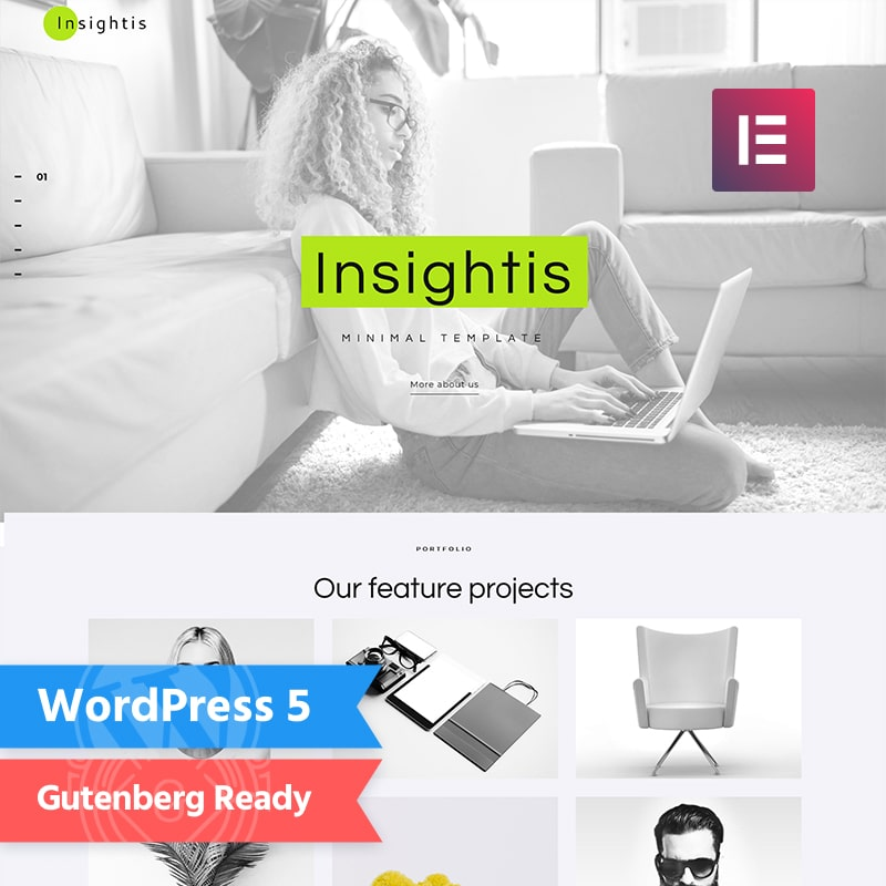 Insightis  Website Template