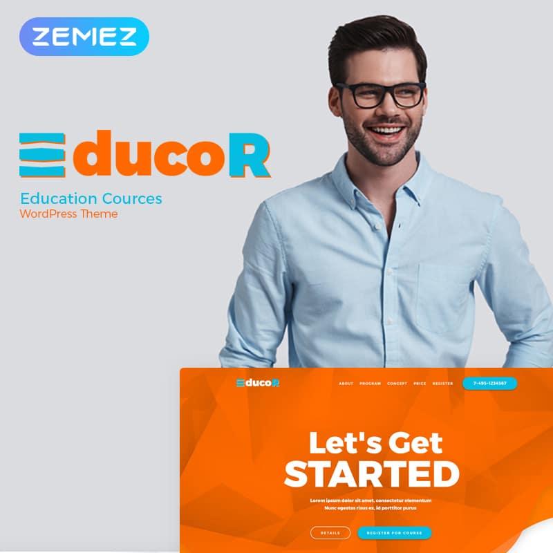 Educor  Website Template