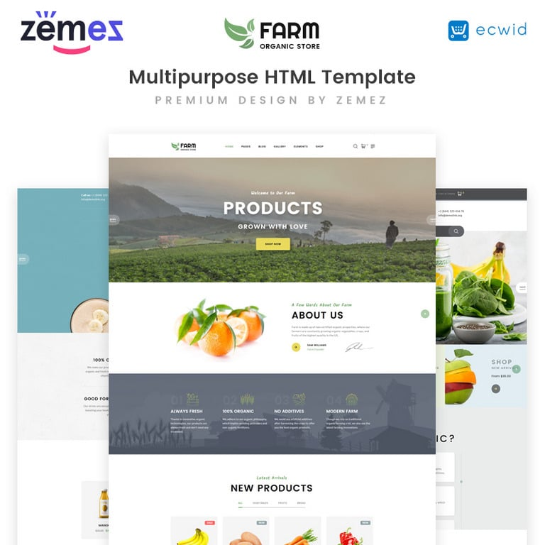 20 HTML5 & Javascript Website Templates 2020