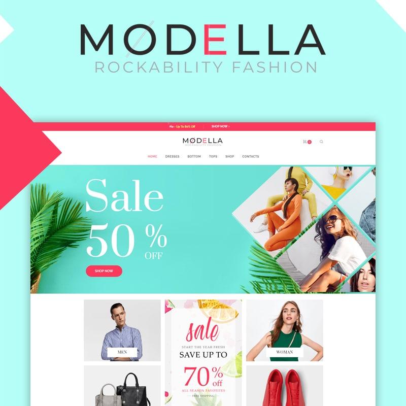 Modella Website Template