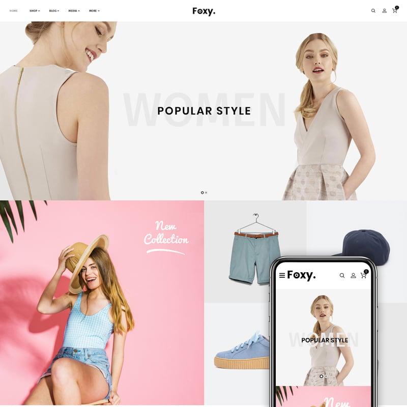 Foxy Website Template
