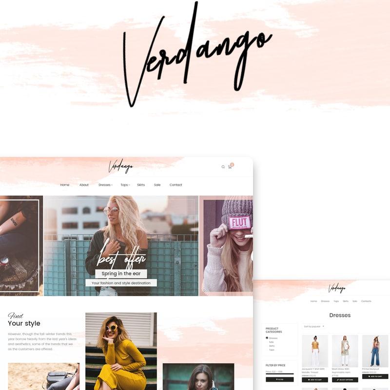 Verdango Website Template