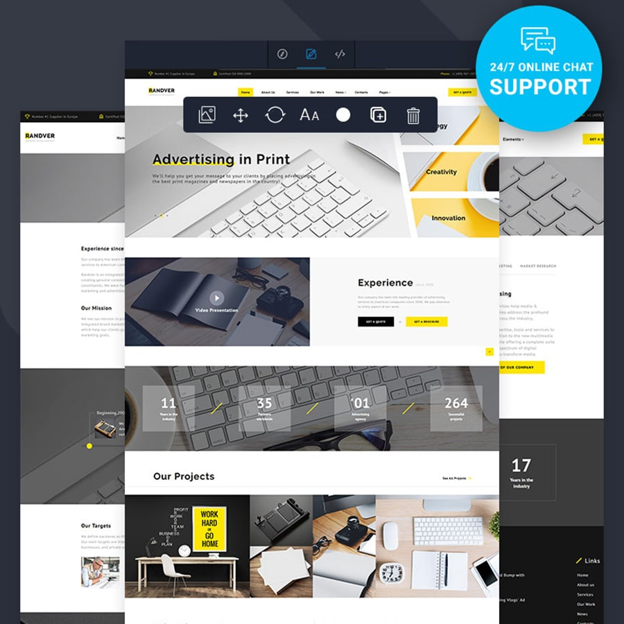 Randver Website Template