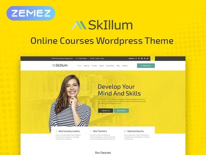 SkIllum Website Template
