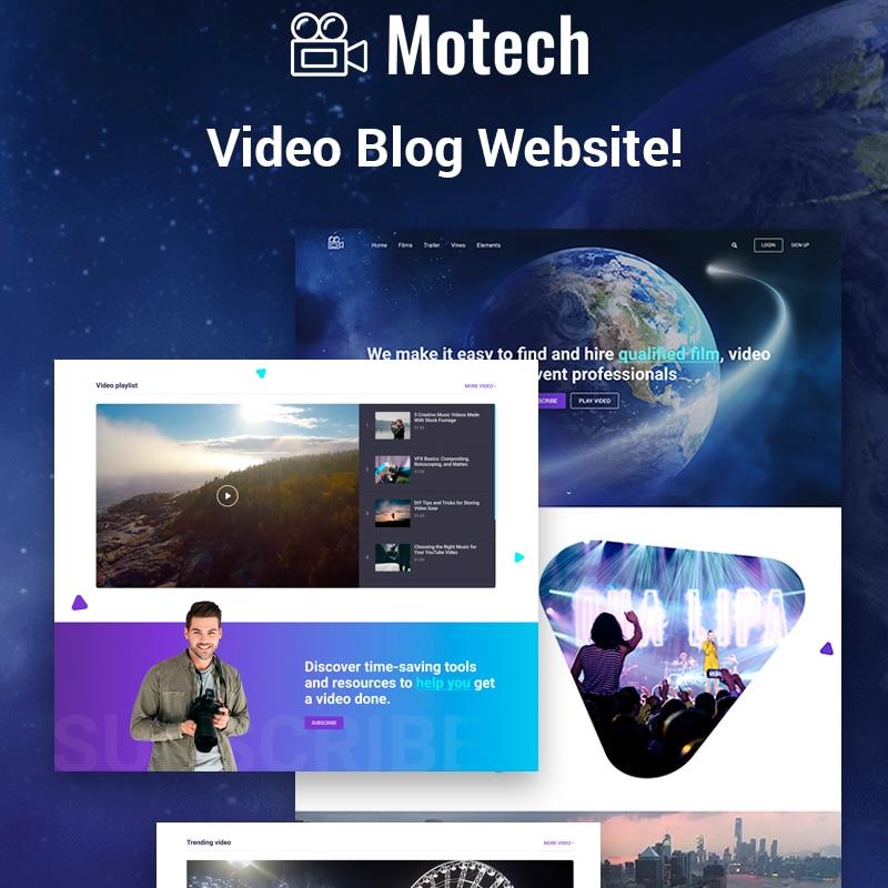 Motech Website Template