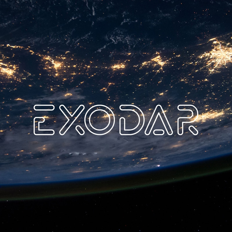 Exodar Font Website Template