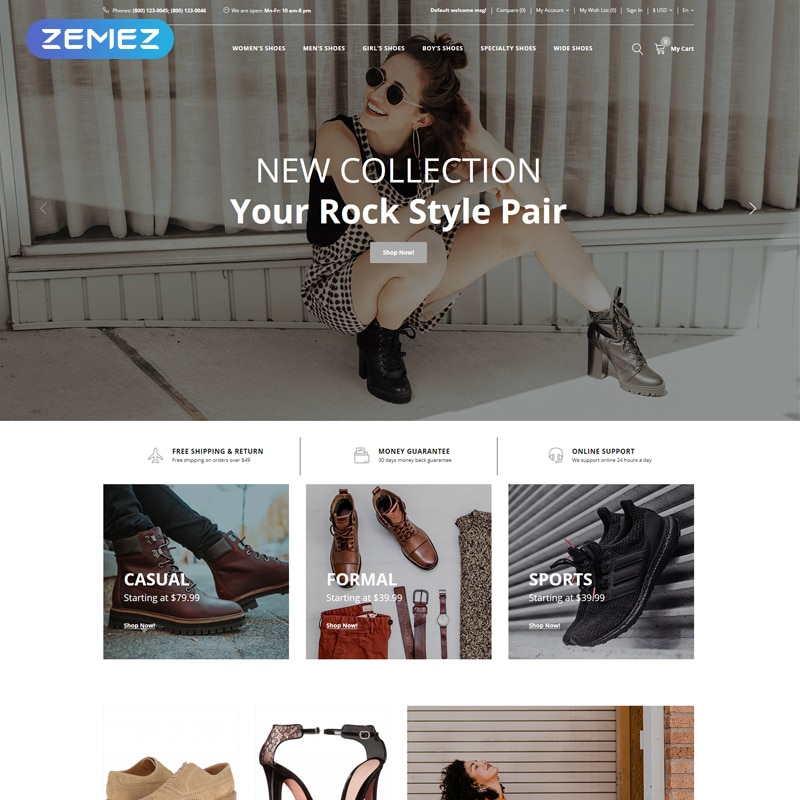 SalesW  Website Template