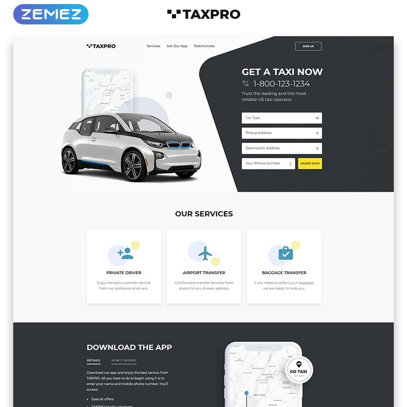 Taxpro Website Template