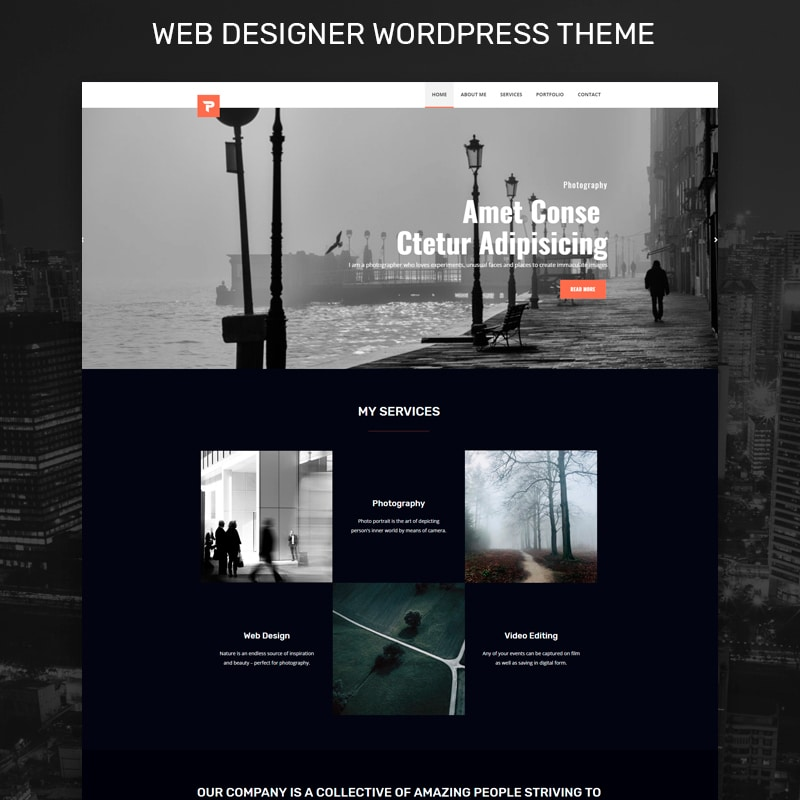 Personalus Website Template