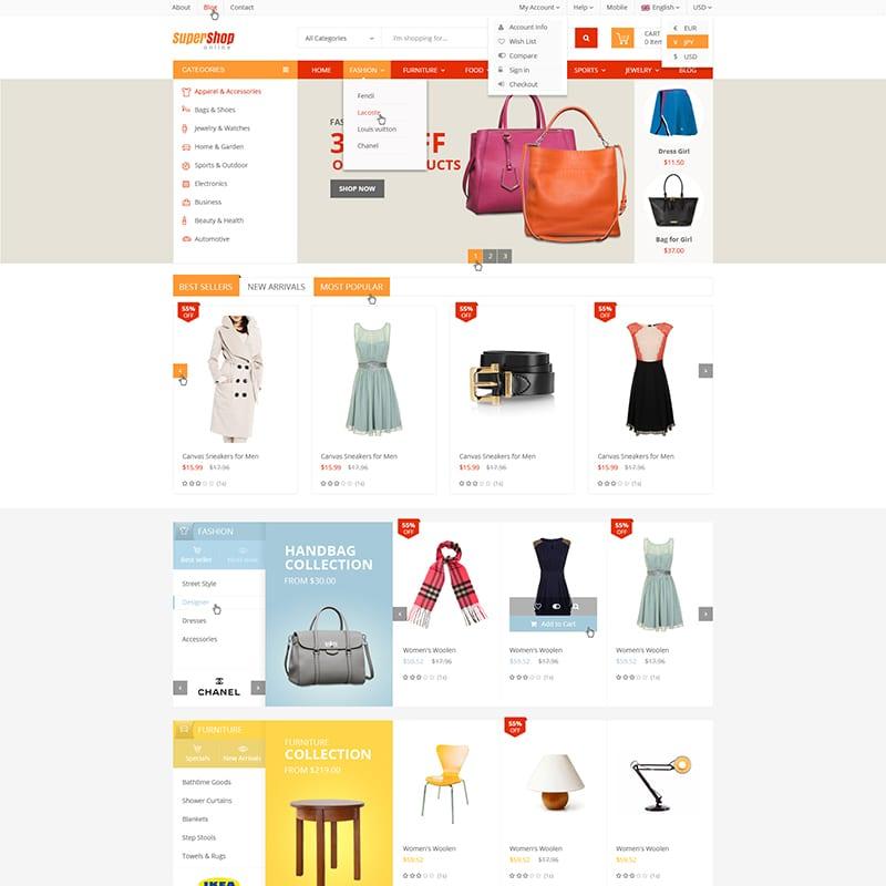 VinShop Website Template