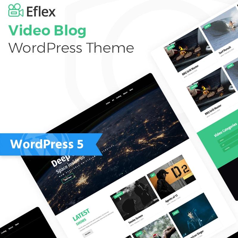 Eflex Website Template