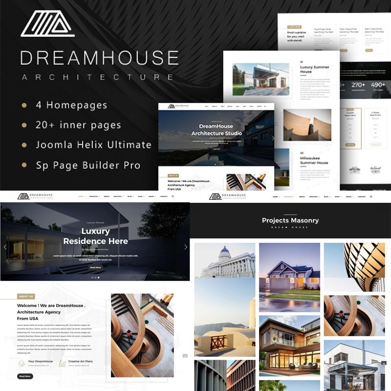 Dreamhouse Website Template