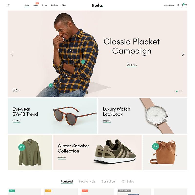 Noda Website Template
