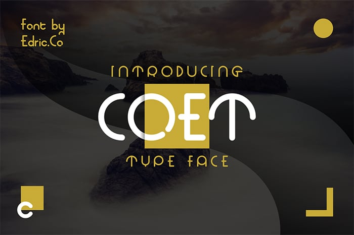 Coet Font Website Template