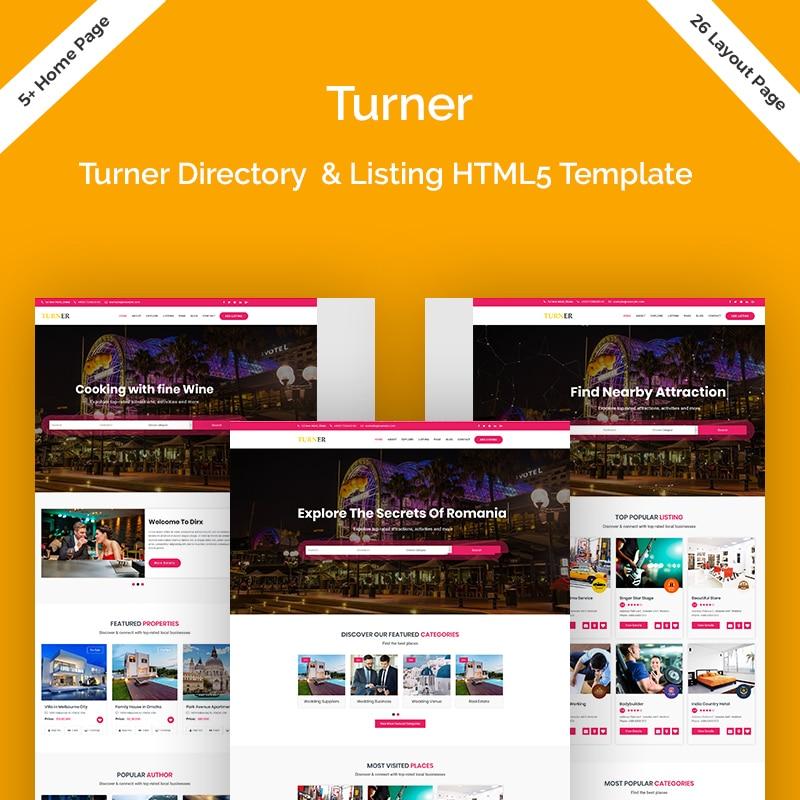 Turner Website Template