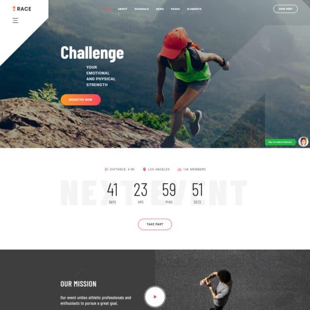10 Multi-Functional Sport Website Templates