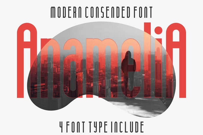 Anamelia Font Website Template