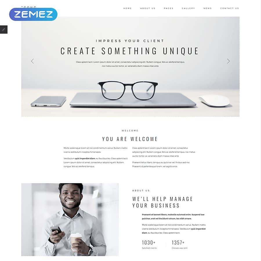 CONC Website Template