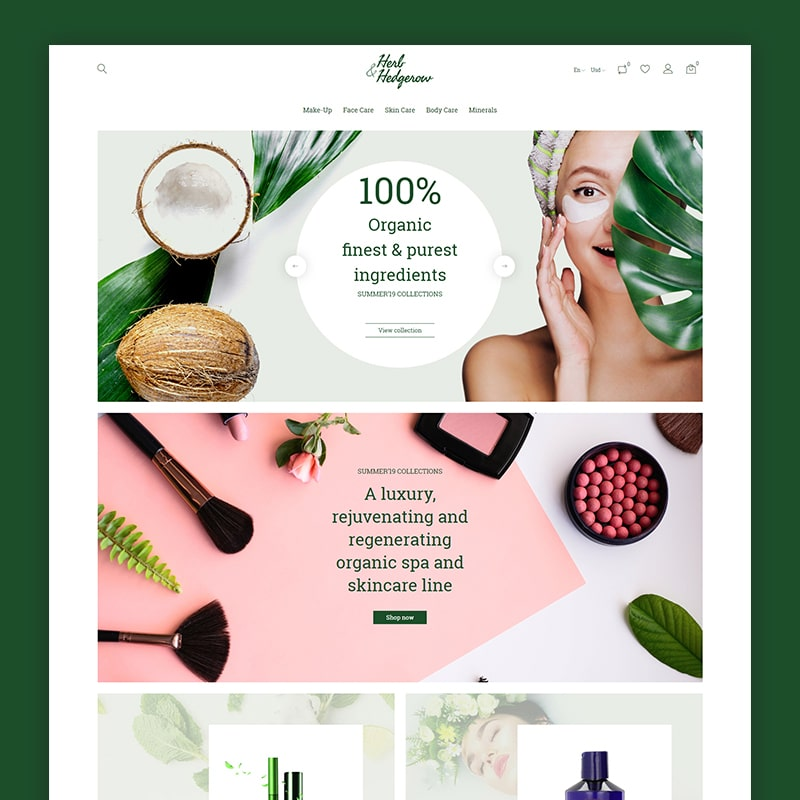 10 Cosmetic, Health, Beauty Prestashop Themes